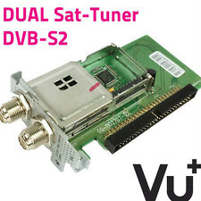 VU + Uno Ultimo Plug and Play DVB-S/S2 Dual/Sintonizador Twin