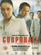 CORPORATE - NUOVO ORIGINALE BOLLYWOOD DVD –
