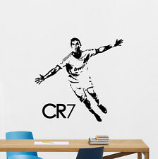 Cristiano Ronaldo Wall Decal CR7 Sport Gym Football Vinyl Sticker Decor 145nnn