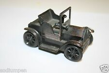 "WOW Vintage Metal Rolling ""1917"" Old Fashioned Car Shaped Pencil Sharpener Rare"