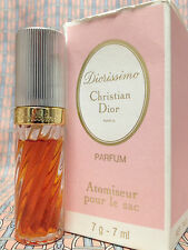 Vintage 80s Diorissimo 1/4 oz 7 ml Pure Parfum Spray Christian Dior OLD FORMULA