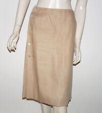 CHANEL JUPE EN LIN BEIGE - Chanel skirt
