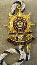 GUARDS POLO CLUB PLAYER 2003 ENAMEL Badge with Cord