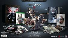 The Witcher III: Wild Hunt Collector's Edition (Xbox One, NTSC, Video Game) New