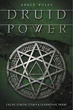 Druid Power: Celtic Faerie Craft & Elemental Magic, Wolfe, Amber, New Book