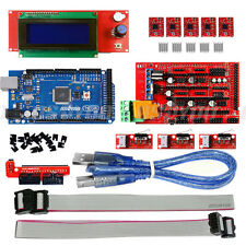 3D Printer Kit Ramps 1.4+Mega2560+2004 LCD+Endstop Switches*3 for Arduino Reprap