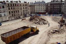 667069 site de construction XVIII round paris france A4 papier photo