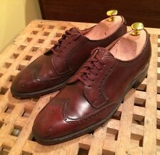 Church's For Brooks Brothers Shortwing Half Brogue Blucher Shoes Wingtip 7 C