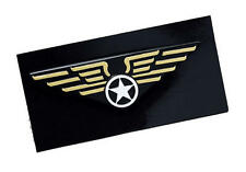 Aviator Pilots Wings Badge Flying Pilot Top Gun Air Force Fancy Dress Pin
