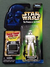 1997 Hasbro Kenner Star War POTF FF Freeze Frame Stormtrooper Action Figure