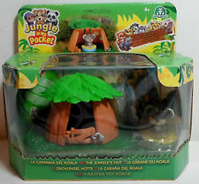 MEG 2007 JUNGLE IN MY POCKET BABY KOALA HUT PLAY SET EUROPEAN MISP NEW SEALED