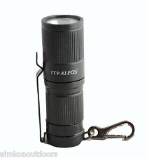 iTP A1 EOS 3 Mode CREE XP-G2 250 lm Keychain LED Flashlight w/ Flat Magnet Tail