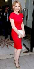 Stella McCartney Kylie minogue Red Cocktail Dress UK12 US8, rrp495GBP