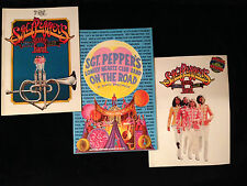 VINTAGE MOVIE and THEATER PROGRAM LOT-SGT PEPPERS-BEATLES-BEE GEES-WITH RECORD