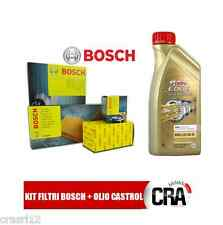 Oil replacemenet Kit CASTROL LONGLIFE 04 6LT 4 FILTERS BOSCH BMW 320D E90 177 CV