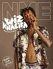 The NEW MUSICAL EXPRESS NME 17 JUNE 2016 WIZ KHALIFA Front Cover n.m.e.