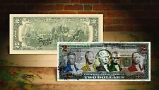 CIVIL RIGHTS by RENCY Art Giclee Print on $2 Bill Signed by Artist #/215 Banksy