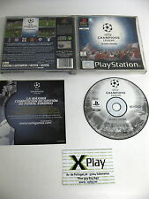 Psx Uefa Champions League Pal España no incluye manual buen estado  Ps Ps2 Ps3