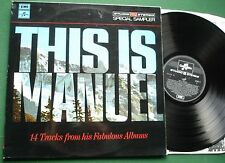 Manuel & The Music of The Mountains - This is Manuel inc Somewhere My Love + LP