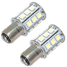2-Pack HQRP 10V-30V DC BA15d Double Contact LED Bulb Replacement 1130 1176 1142