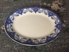 Lovely Losol Ware Venice Blue & White 30Cm Meat Plate