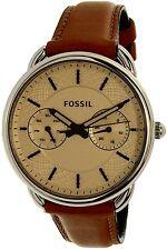 Fossil Women's Tailor ES3950 Bronze Leather Quartz Watch