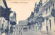 HUELVA, SPAIN ~ 3 POSTCARDS, STREET SCENES ~ c. 1904-14