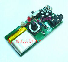 New Rechargeable RDA5807 DSP FM Radio Stereo Receiver Board 76-108MHz No Battery