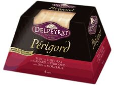 3 x french foie gras from perigord  4 serves DELPEYRAT  5,64 oz
