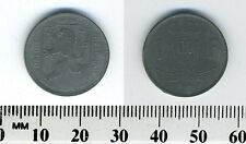 Belgium 1945 - 1 Franc  Zinc Coin - Post-WWII - Dutch Legend