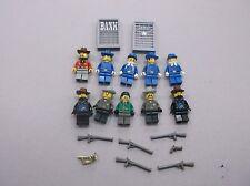 LEGO FORT LEGORADO MINIFIG LOT of 10 MINIFIGS WESTERN CAVALRY BANDITS T77