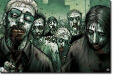 FANTASY POSTER Zombies Horde