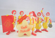 Rare Vintage McDonald's Happy Meal Toy with Set of 5 Ronald McDonald's Character