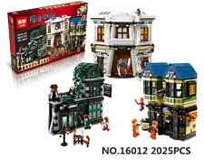 Lego Compatible Harry Potter Diagon Alley Building Set 10127 + 10 Minifigures