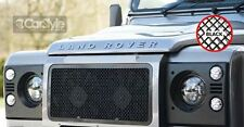 ZunSport Landrover Defender 2007 Onwards Black Steel Mesh Front Grille