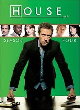 HOUSE M.D. MD  REGION 1  COMPLETE FOURTH SEASON 4 SERIES FOUR NEW FACTORY SEALED
