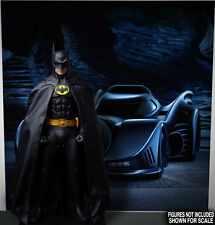 POSTER BACKGRND 89 BATMAN BATMOBILE FOR 1/6 HOT TOYS FIGURE DX09 DX08 DC KEATON