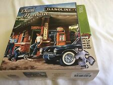 "Art Of Dan Hatala Vintage Gasoline Garage Corvette 1000 Piece Puzzle 19.25"" 26."
