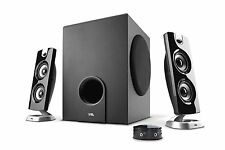 Cyber Acoustics 30 Watt Powered Speakers with Subwoofer for PC and Gaming