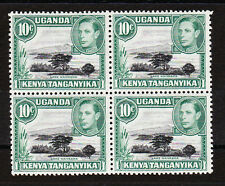 K.U.T.1938-54 10c WITH MOUNTAIN RETOUCH SG 135a MINT.