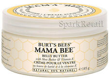 Burt's Bees Organic Mama Bee BELLY BUTTER 185g Body Cream Pregnancy/Maternity