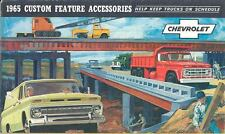 1965 Chevrolet Truck Custom Feature Accessories Brochure 539-18R6TJ