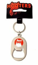 HOOTERS HOOTIE THE OWL Satin Finish Metal Bottle Opener Keychain - NEW KEY CHAIN