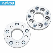2pcs Wheel Spacers Adapters 5x4.5 to 5x5 for Jeep JK TJ YJ KK SJ XJ MJ 1.25""