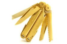 "Leatherman Wave Multi-Tool, ""Golden Eagle Edition"", Fully 24k Gold Finished"
