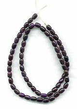 "SOUTH AFRICAN SUGILITE BARREL BEADS - 17.75"" Strand - 884B"