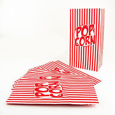 Pack of 10 X Popcorn Treat Box - Style Boxes Favour Party Paper Loot Bags