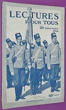 LECTURE POUR TOUS 1914 GUERRE 14-18 ARMEE RUSSE ANVERS Blessés SUCRE CHARBON