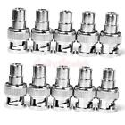 10x BNC Male to RCA Female Plug Jack Coax Connector Adapter for CCTV camera