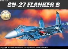 Academy 1/48 Plastic Model Kit Sukhoi Su 27 Flanker 12270 Military Airplane